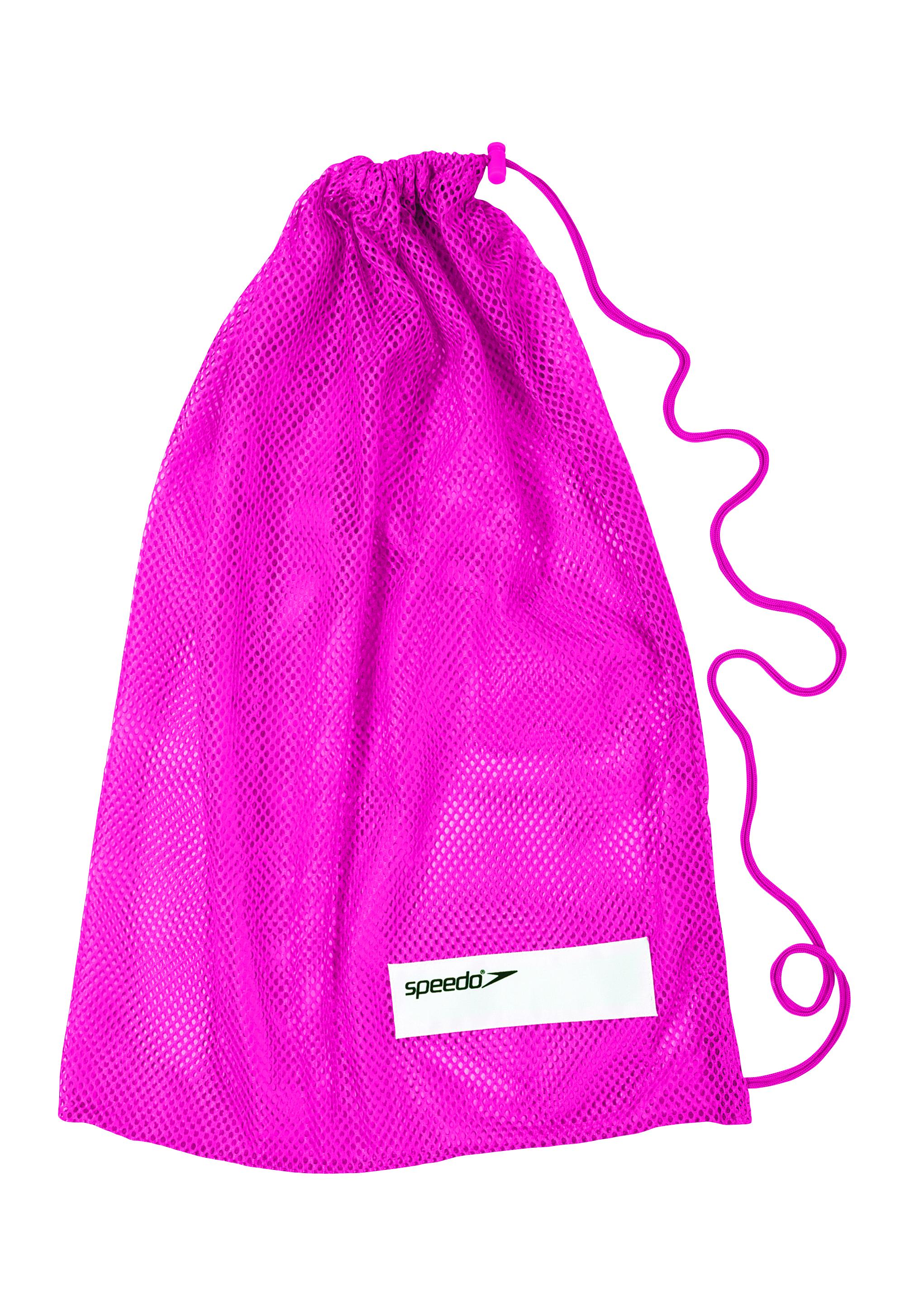 Speedo Mesh Equipment Pool Gear Swimming Bag Pink Ebay