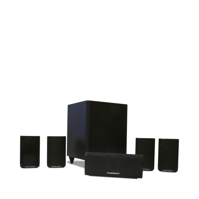 harman kardon hkts 5bk 5 1 channel home theater system. Black Bedroom Furniture Sets. Home Design Ideas