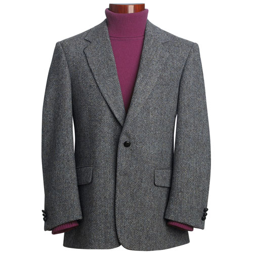 brook taverner harris tweed veste tissu tiss la main. Black Bedroom Furniture Sets. Home Design Ideas
