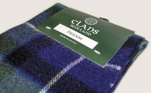 new neck fashion tartan scarf scottish wool clan
