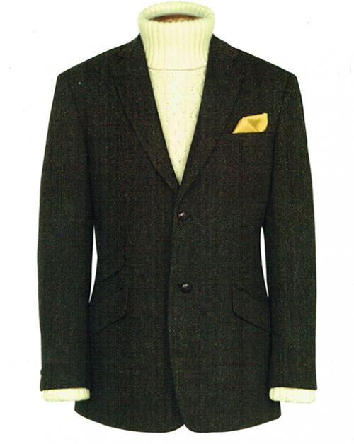 new bnwt mens exclusive genuine scottish harris tweed wool jacket murdo