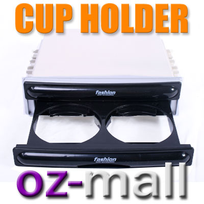 IN-CAR-DVD-CD-DOUBLE-DIN-CUP-HOLDER-STORAGE-TRAY-EVO-EG