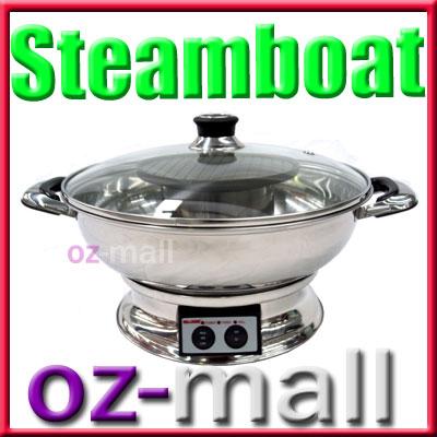 Maxim Electric Steamboat Asian Fondue Hotpot Teppanyaki Ebay