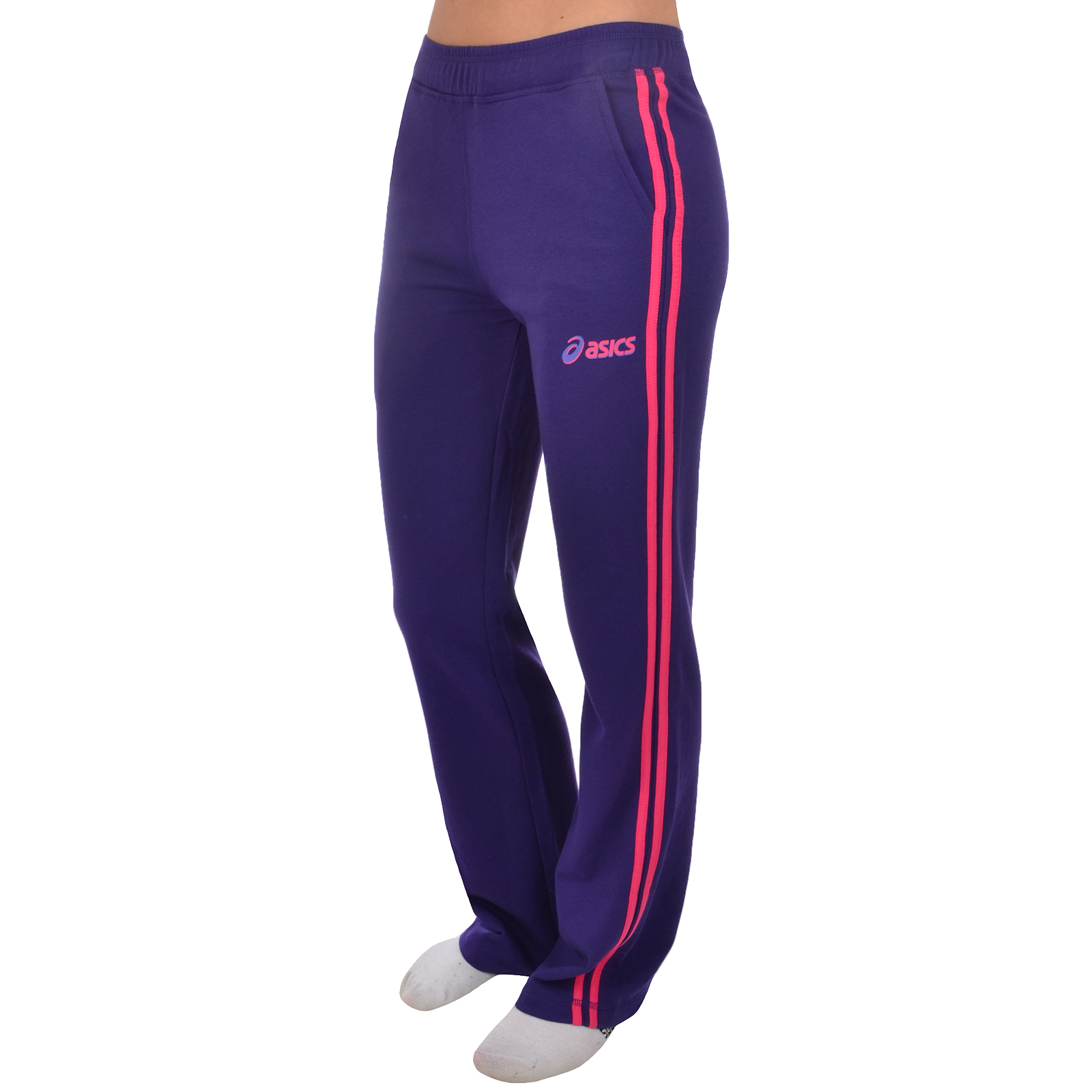 Model Adidas 3 Stripe Womens Tracksuit Bottoms Pants  Active Human