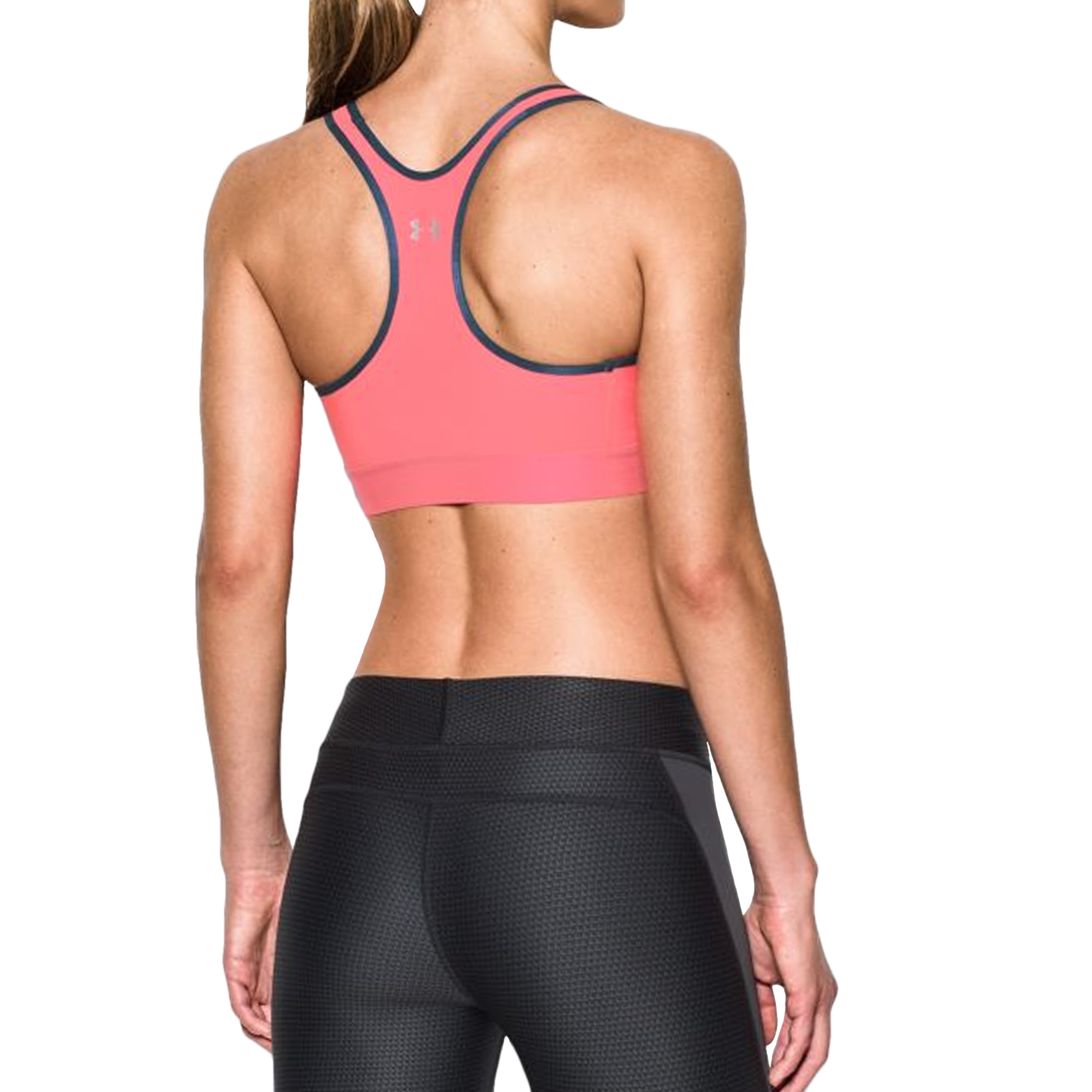 Under Armour UA Womens Mid Fit Sports Bra Gym Training ...