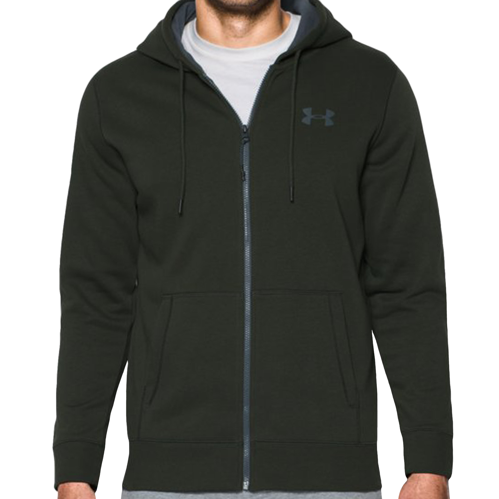 under armour ua mens storm rival fleece full zip hoodie