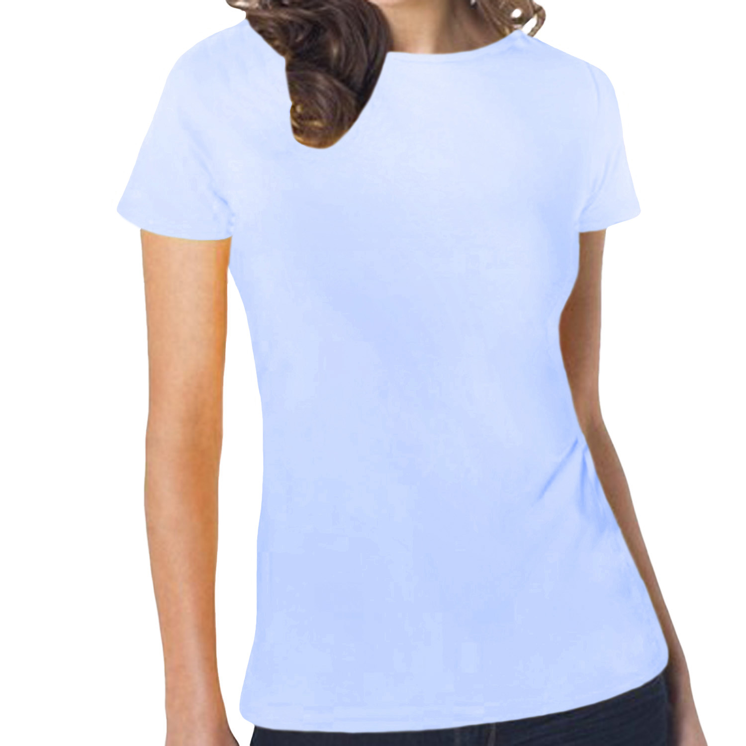 Hanes womens tasty boat neck short sleeve casual cotton for Boat neck t shirt women s