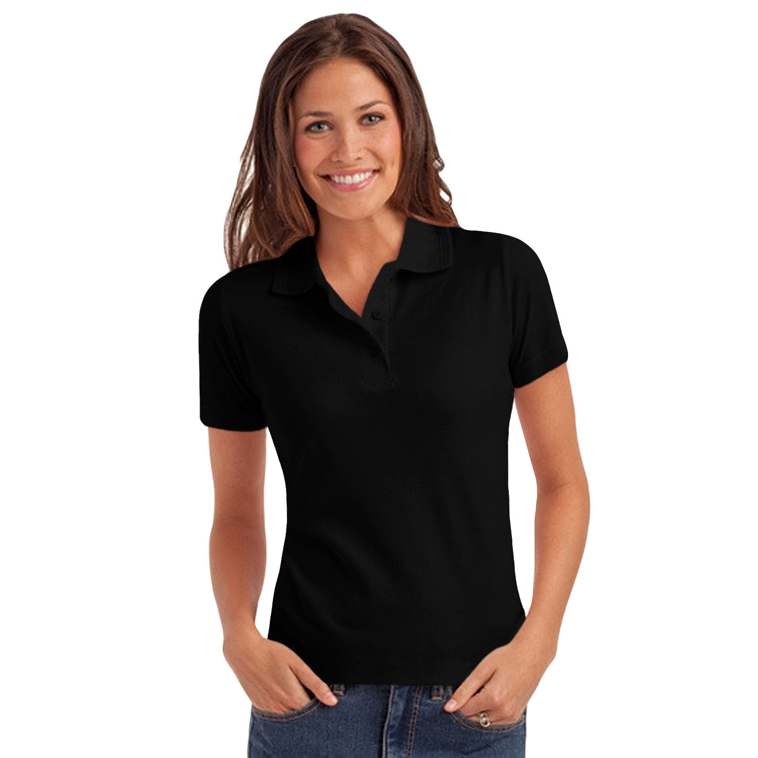 The short sleeve shirt is a mainstay in women's fashion. Choose from casual blouses, open cardigans, tees and women's polo shirts. Pair those skinny jeans or leggings with a short sleeve tunic and strappy heels, and complete the look with elongated necklaces.