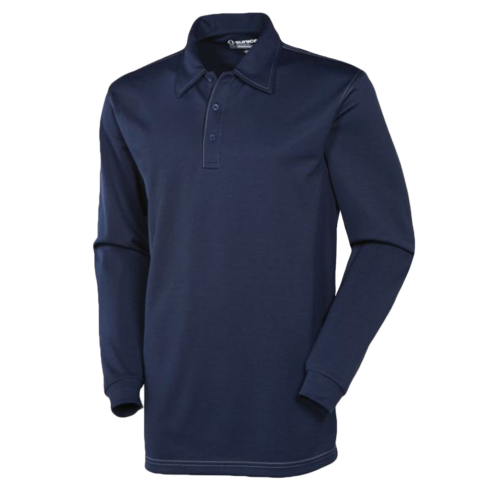 Sunice Silver Chester Mens Performance Long Sleeve Golf