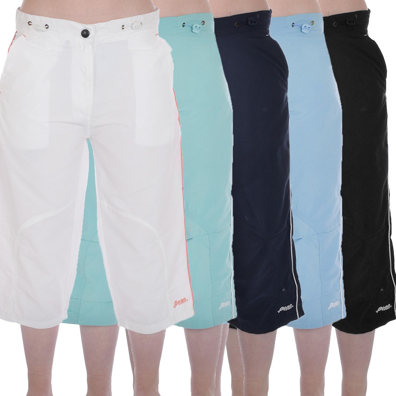 Penn womens ladies sports cropped 3 4 capri below the knee for Women s fishing shorts
