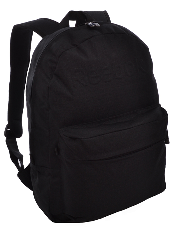 Details about Reebok Black School Backpack Rucksack Gym Bag - K75879