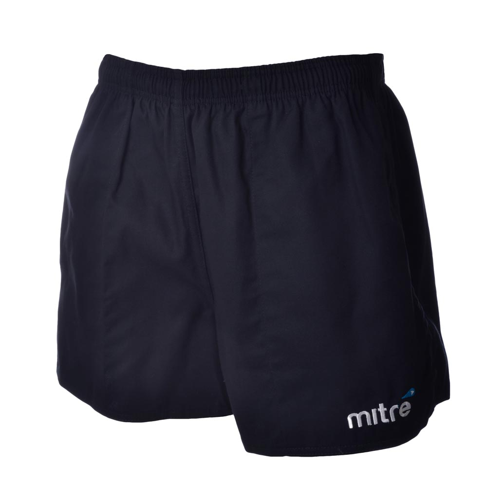 Mitre-Mens-Cotton-Drill-Rugby-Training-Fitness-Shorts-Hockey-Gym