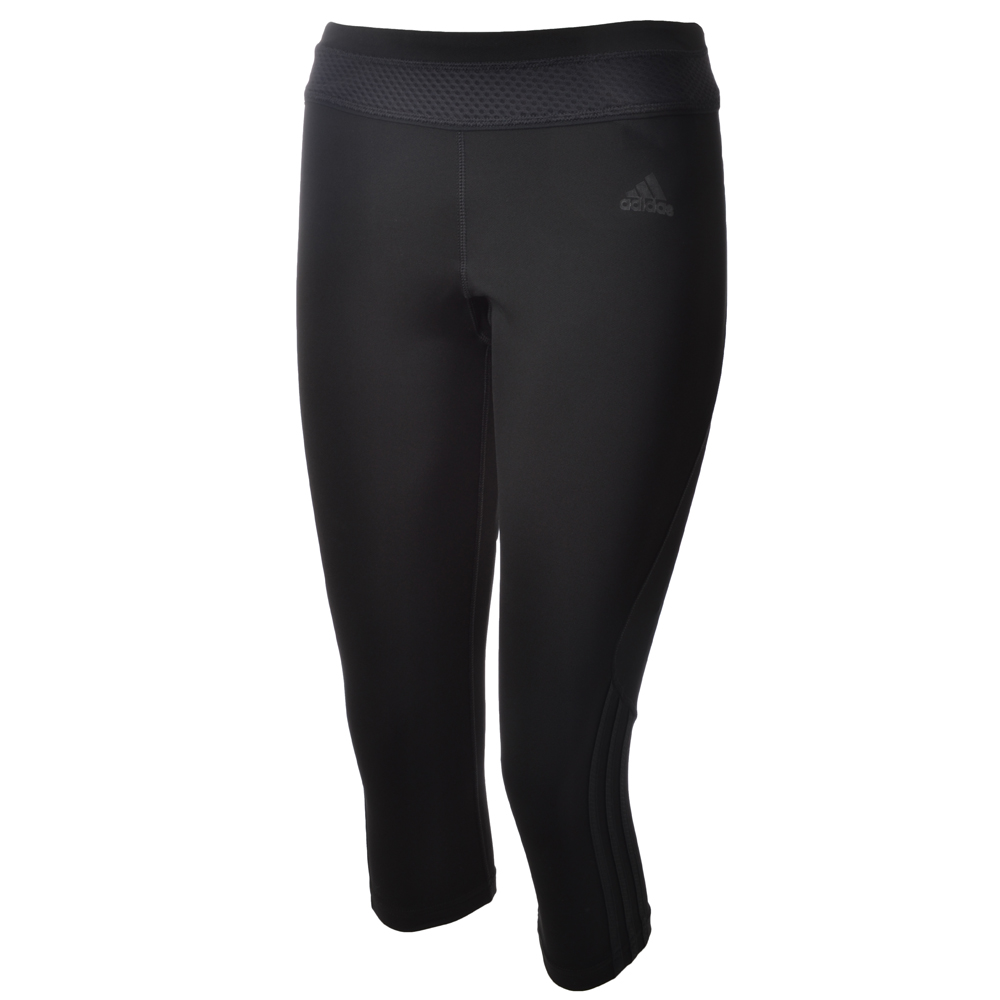 Adidas-Climalite-Womens-Black-Running-Leggings-3-4-Tights-Pants-Yoga-Bottoms