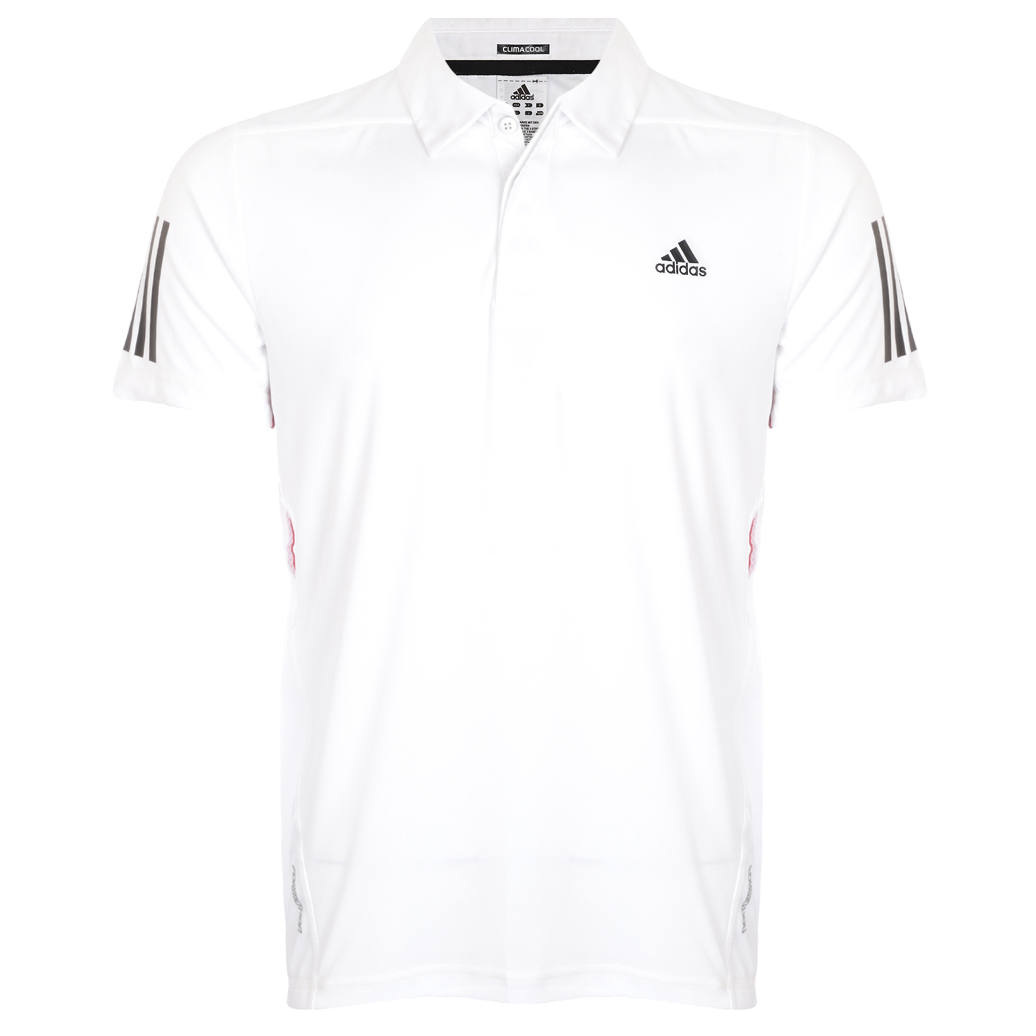 Adidas Barricade Mens Traditional Short Sleeve Tennis Polo