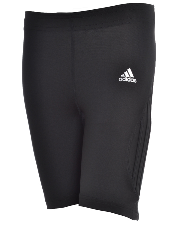 Adidas-Womens-Response-Running-Black-Tight-Gym-Shorts-Ladies-ClimaCool-P93164