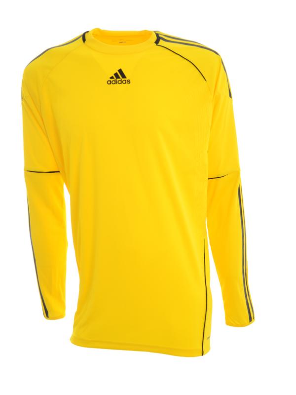 Adidas mens cono football goalkeeper jersey shirt top long sleeve