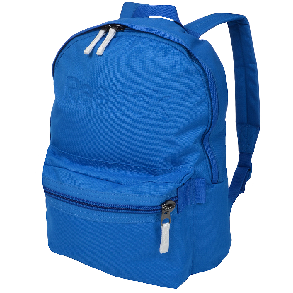 Details about Reebok School Backpack Rucksack Bag - Blue