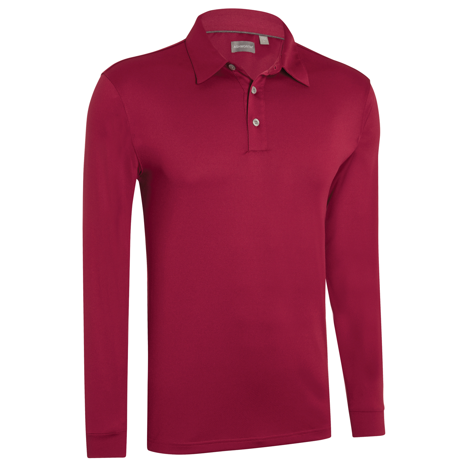 ashworth mens performance ez sof long sleeve solid golf