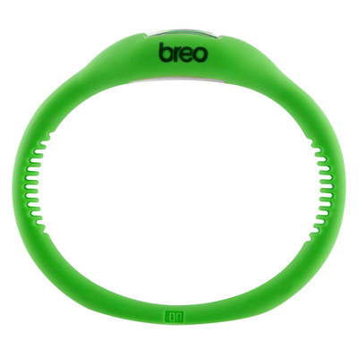 BREO SPORT ROAM WRIST BAND WATCH GREEN enlarged preview