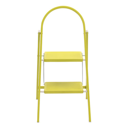 Small Step Ladder 2 Rungs Steel Step Stools Bright