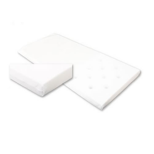 Babywise Cot Bed Foam Safety Baby Mattress 127x64x10cm Infant Bedding enlarged preview