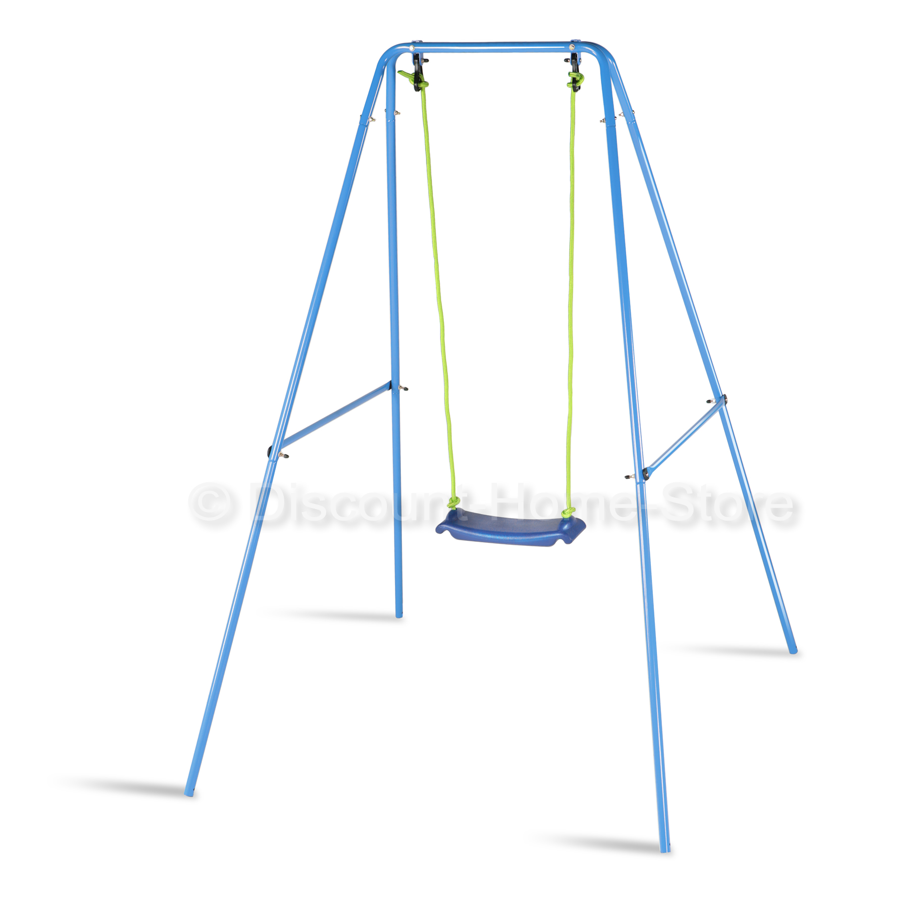 childrens garden swing playgarden metal single swing set