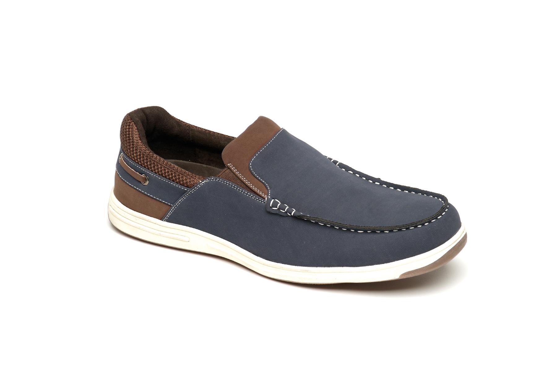 loafer deck shoes slip on mens uk size 6 7 8