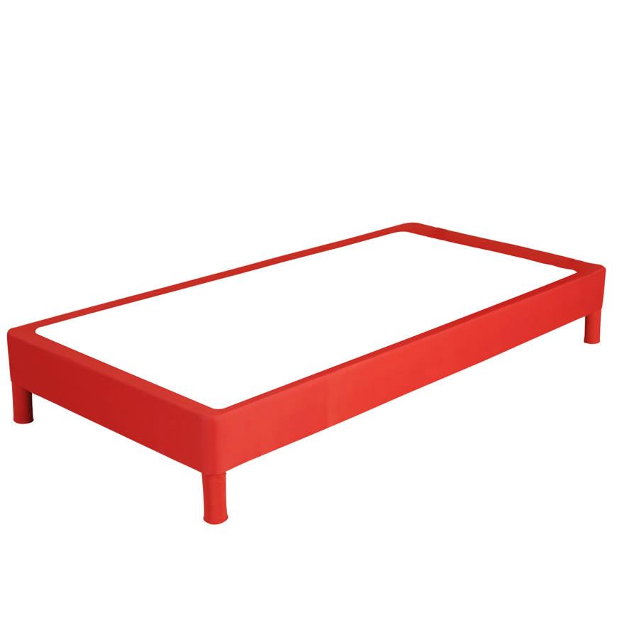 Jazz Divan Bed Base Black Pink Orange Blue Green Bedstead Low Sturdy Ebay
