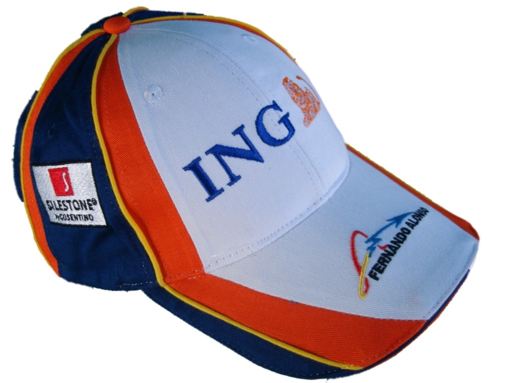 cap casquette formule f1 1 f1 ing renault equipe alonso 2008 fr ebay. Black Bedroom Furniture Sets. Home Design Ideas
