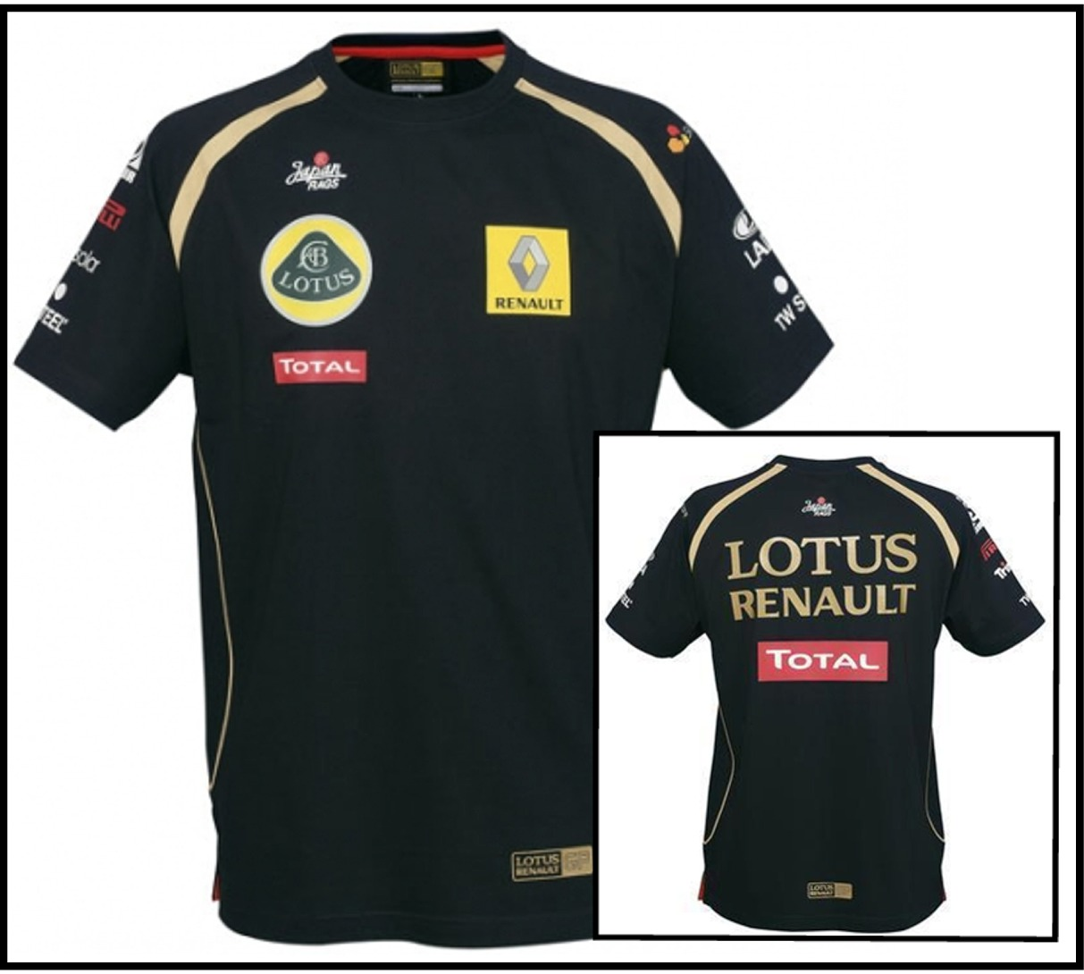 t shirt formula one 1 lotus renault gp f1 team new xxl motorsport merchandise ebay. Black Bedroom Furniture Sets. Home Design Ideas