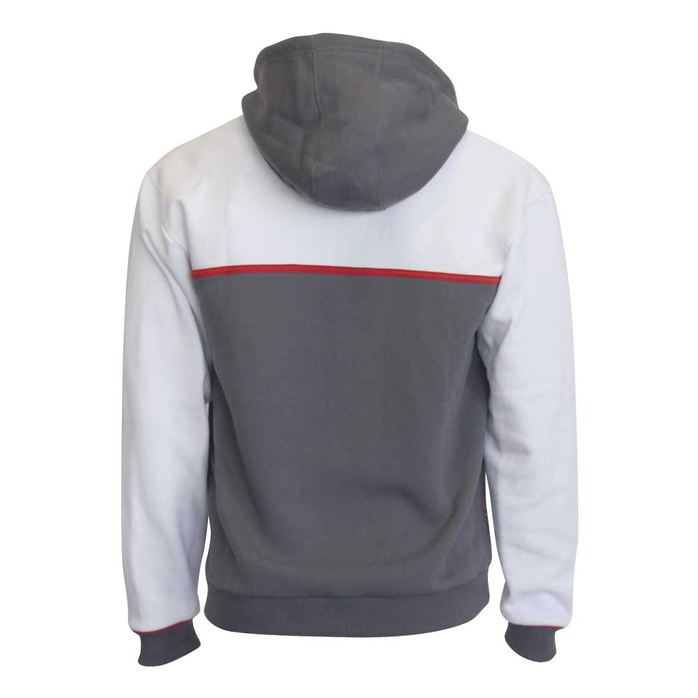 Hooded Sweatshirt Hoody Sauber F1 Team Zip Mens Grey And