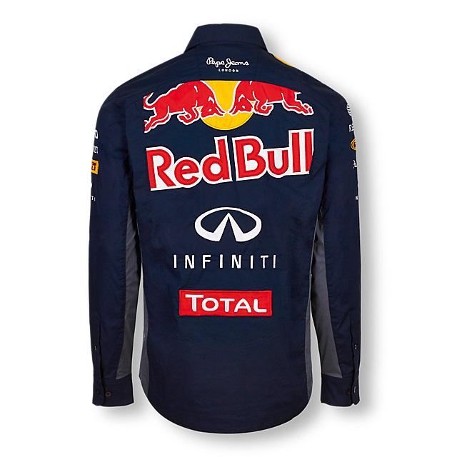 Shirt teamshirt infiniti red bull racing team teamline for Red bull logo shirt