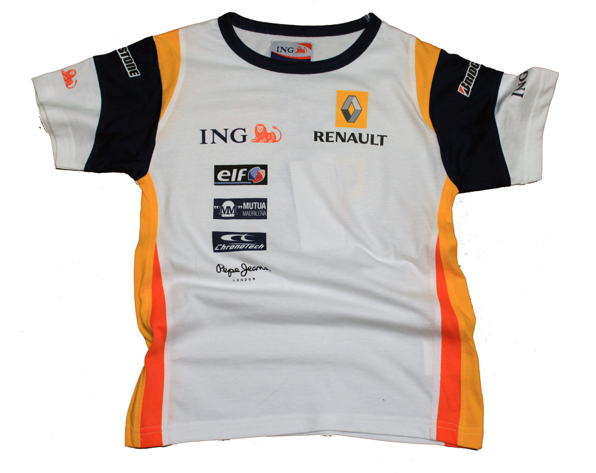 T shirt formula 1 renault f1 sponsor ing new kids xl ebay for Sponsor t shirt design