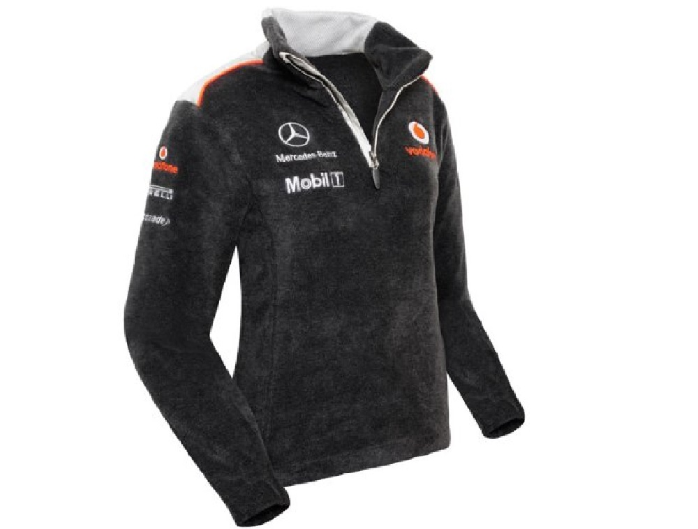 Sweatshirt Fleece V07 Formula One 1 Mclaren Mercedes F1