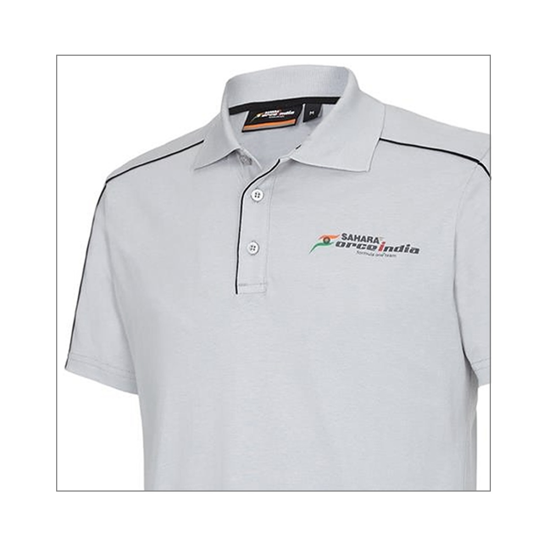 POLO Poloshirt Sahara Force India Formula One 1  Fan F1 grau L DE