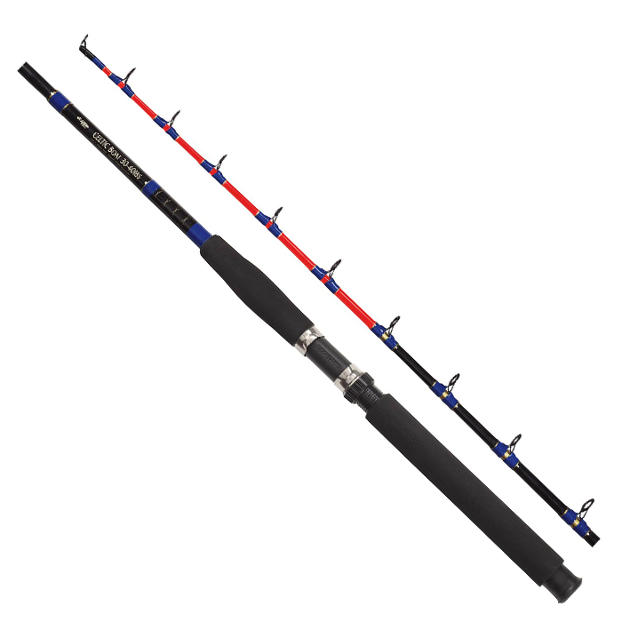 Fladen celtic 4 7ft super strong fishing rod sea coast boat for Strongest fishing rod