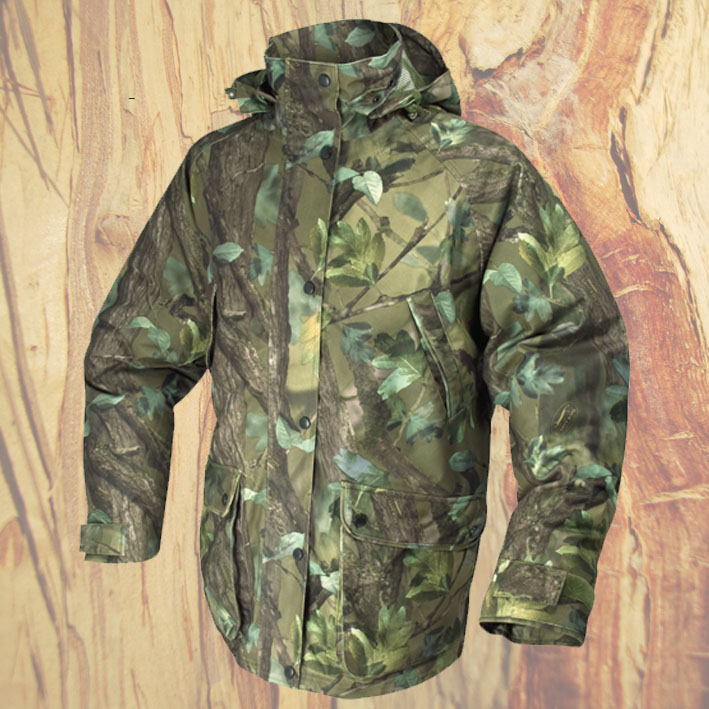 Jack pyke field smock jacket english oak woodland green for Green top hunting and fishing