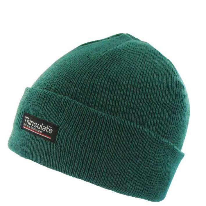 highlander thinsulate ski snowboard winter hat green
