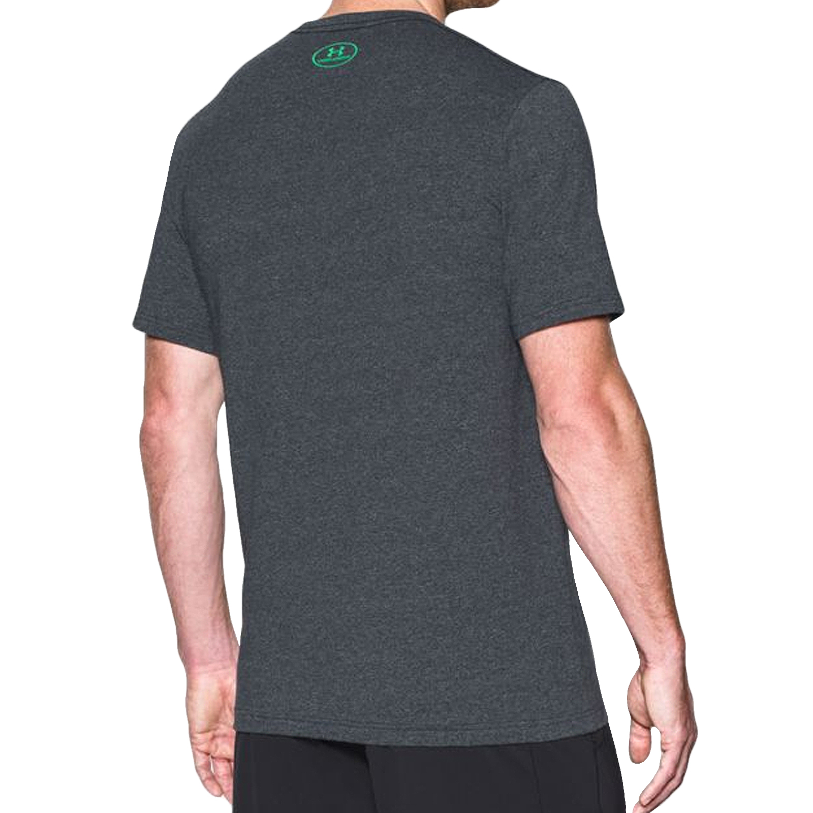 Under armour ua mens charged cotton short sleeve gym for Under armour charged cotton shirts mens