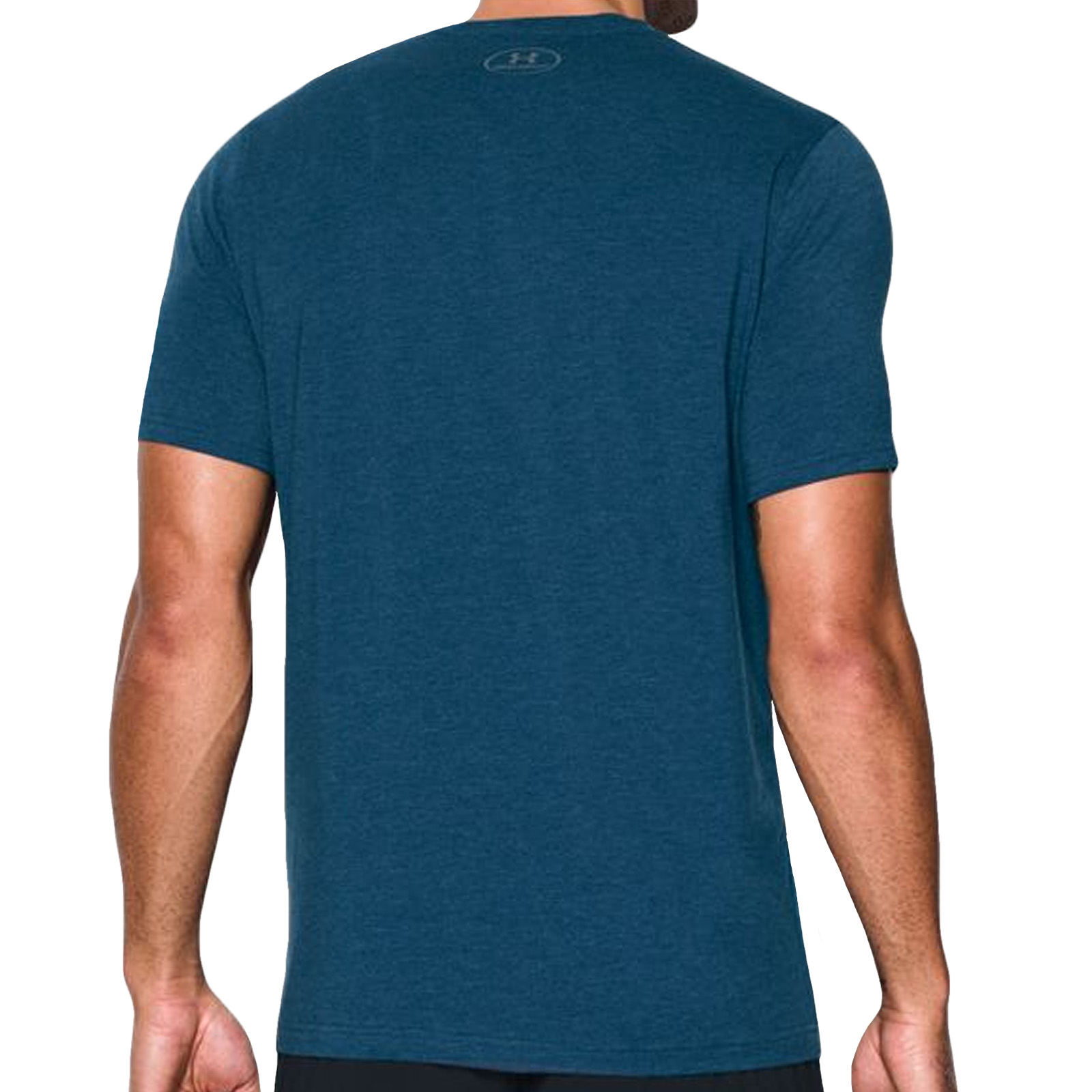 Under armour ua mens charged cotton short sleeve gym for Under armour charged shirt