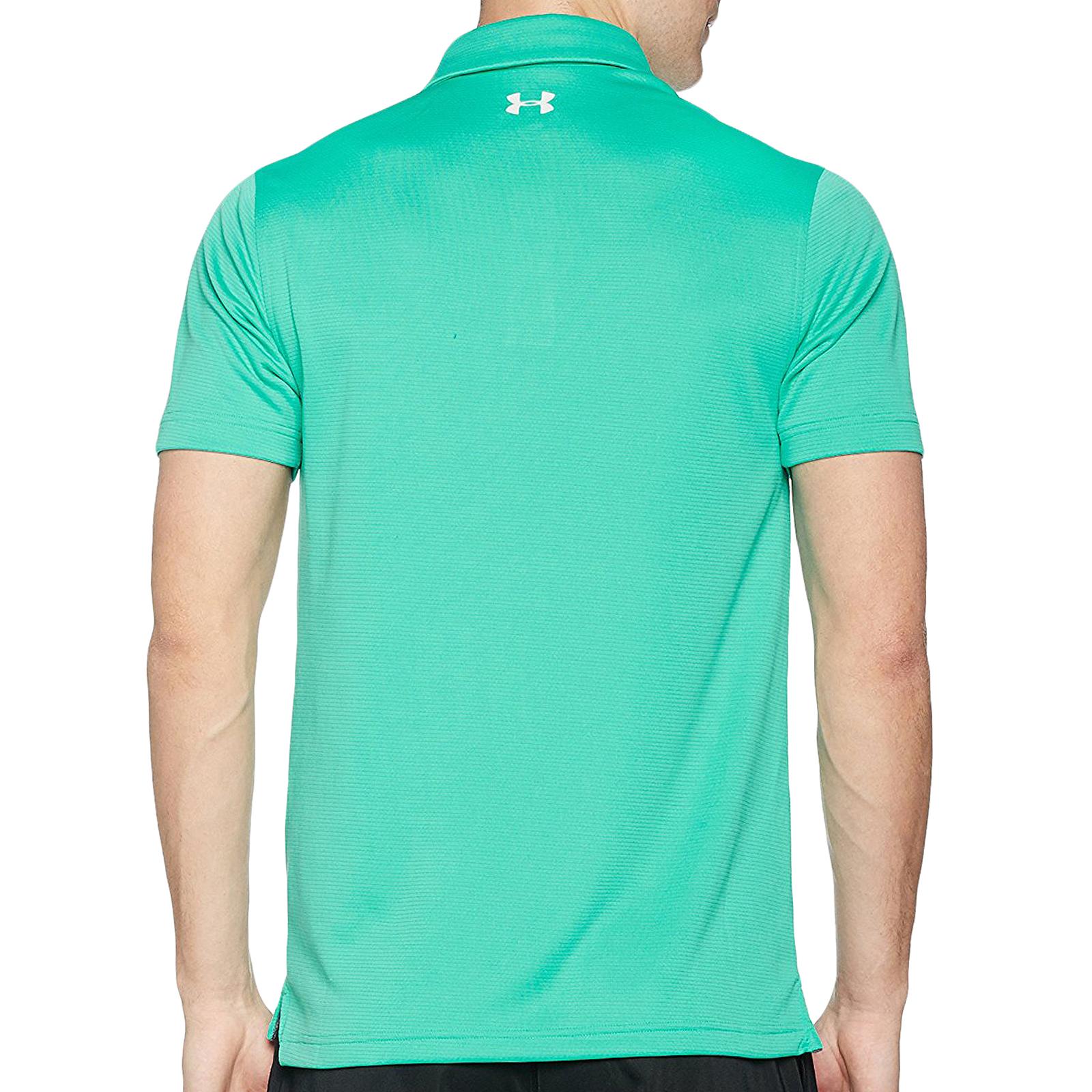 Under armour ua mens short sleeve golf sports tech polo for Best mens sport shirts