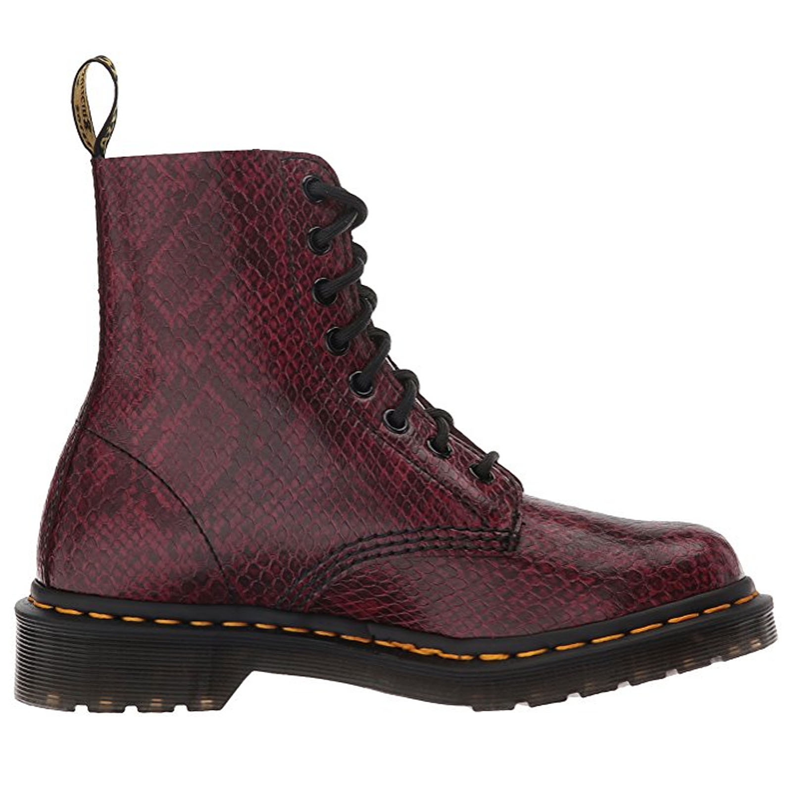 dr doc martens womens pascal viper leather air wair boots. Black Bedroom Furniture Sets. Home Design Ideas