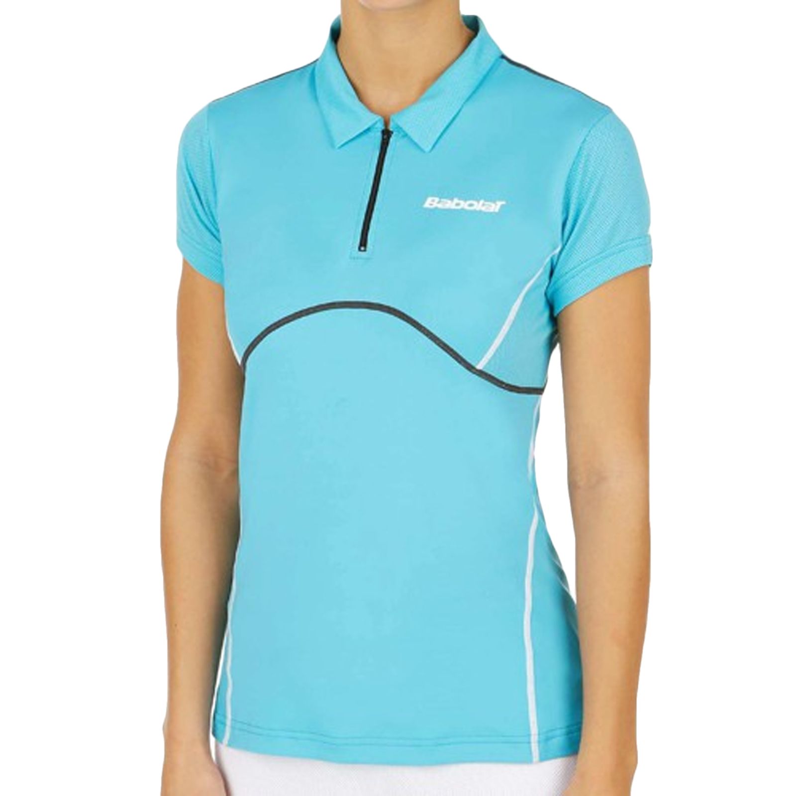 Babolat Womens Tennis Match Performance Short Sleeve Polo ...