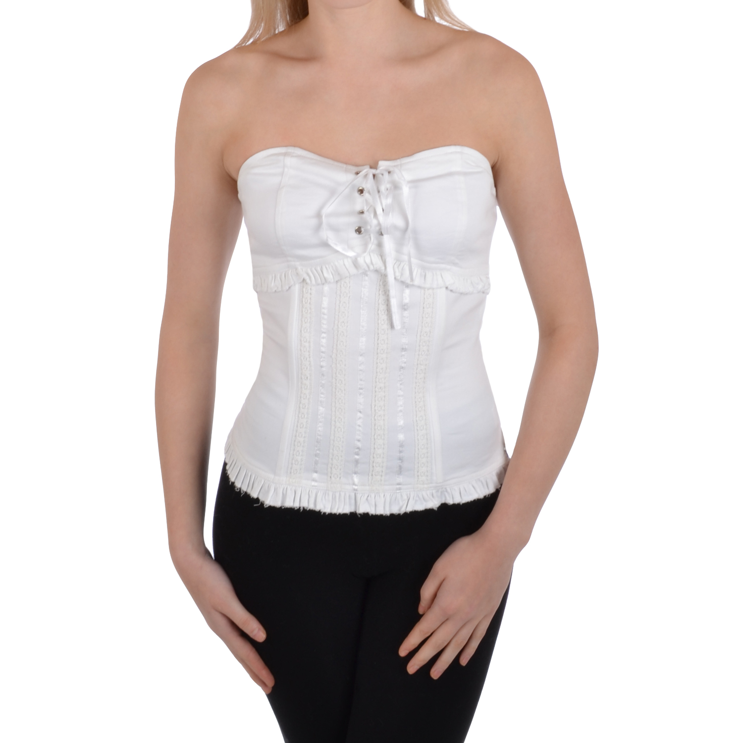 Find women bustier tops at ShopStyle. Shop the latest collection of women bustier tops from the most popular stores - all in one place.