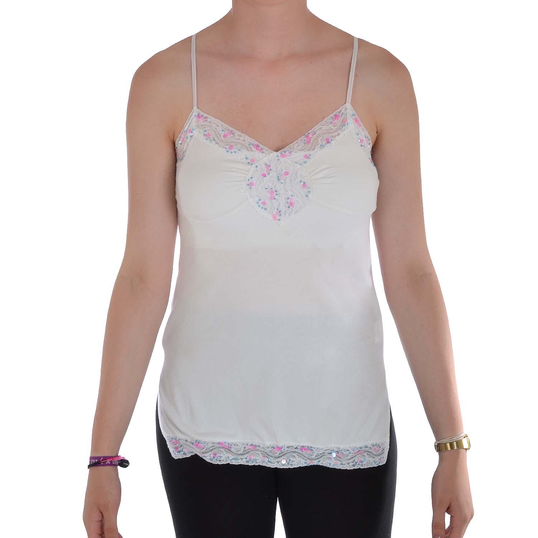 Miss Posh Womens Ladies Cotton Sleeveless Camisole Tank ...