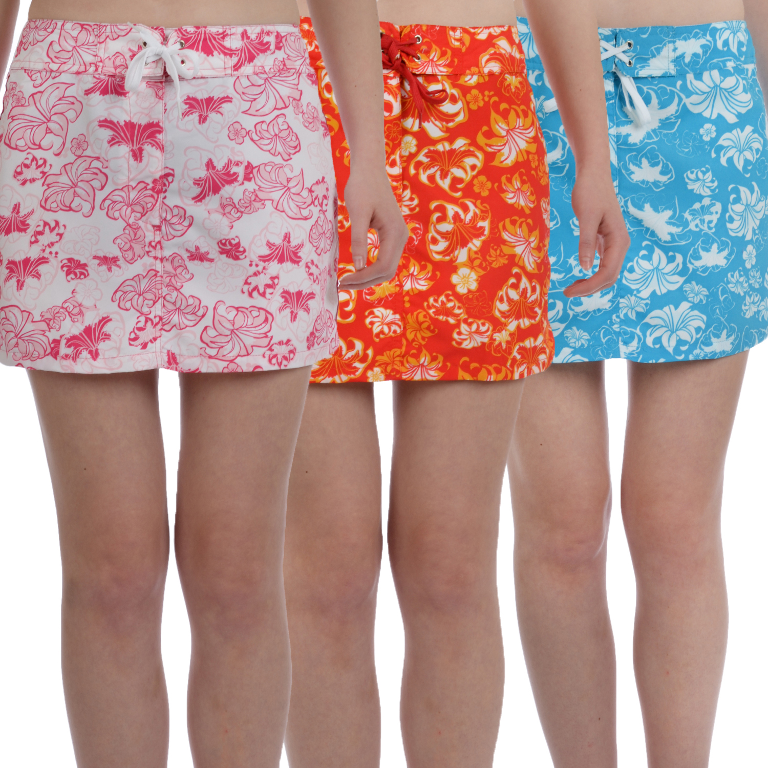 brugi womens floral cover up swimming swim board