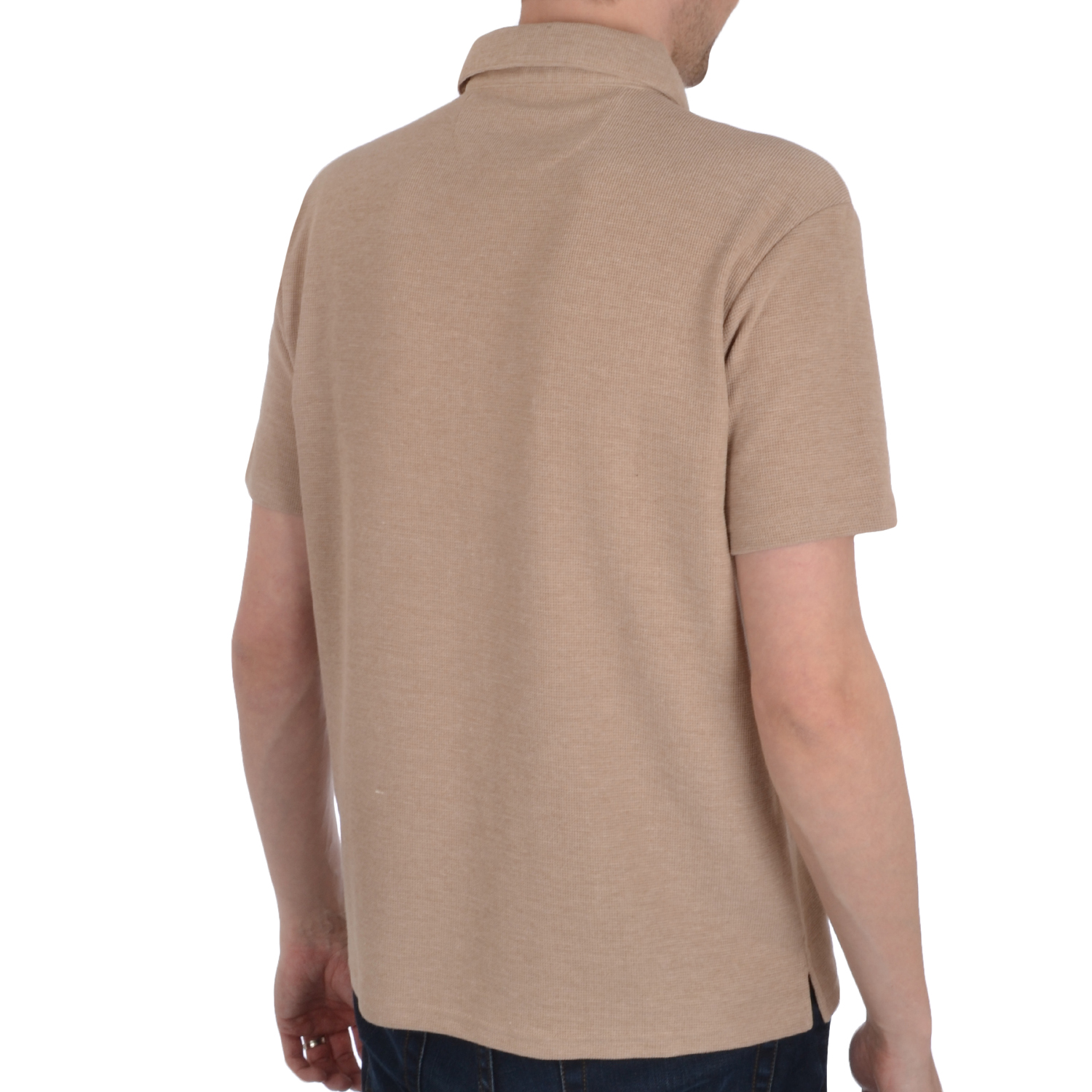 Ex Chainstore Mens Casual Short Sleeve Cotton Pique Polo