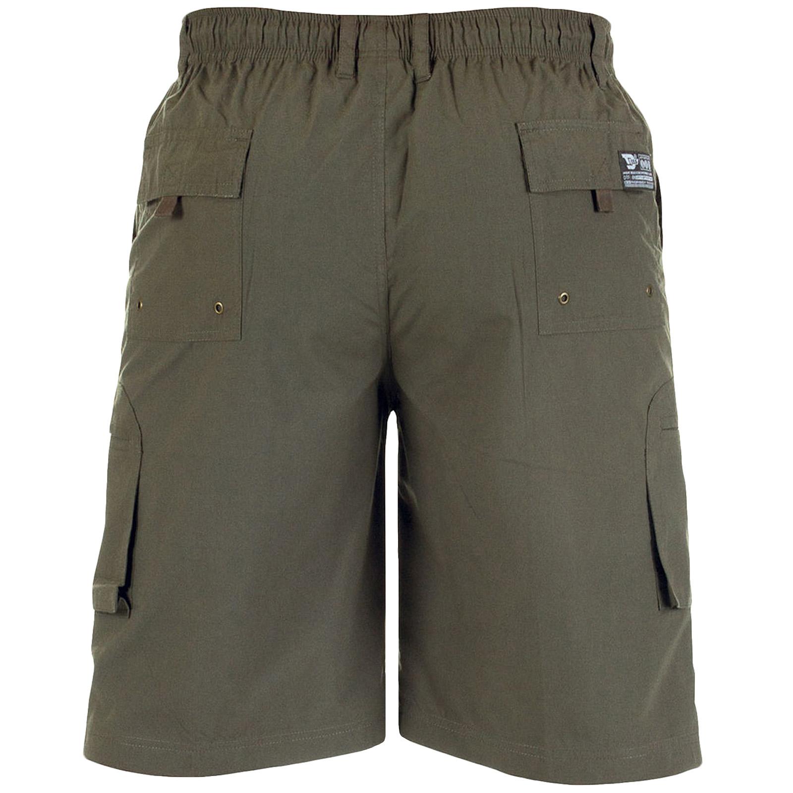 D555 Duke Mens Nick Big Tall King Size Summer Holiday Beach Cargo Bottoms Shorts