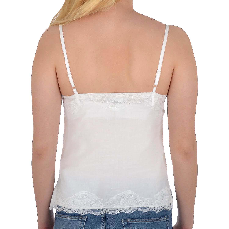Miss Posh Womens Ladies Sleeveless Camisole Cotton Tank Shirt Vest Top