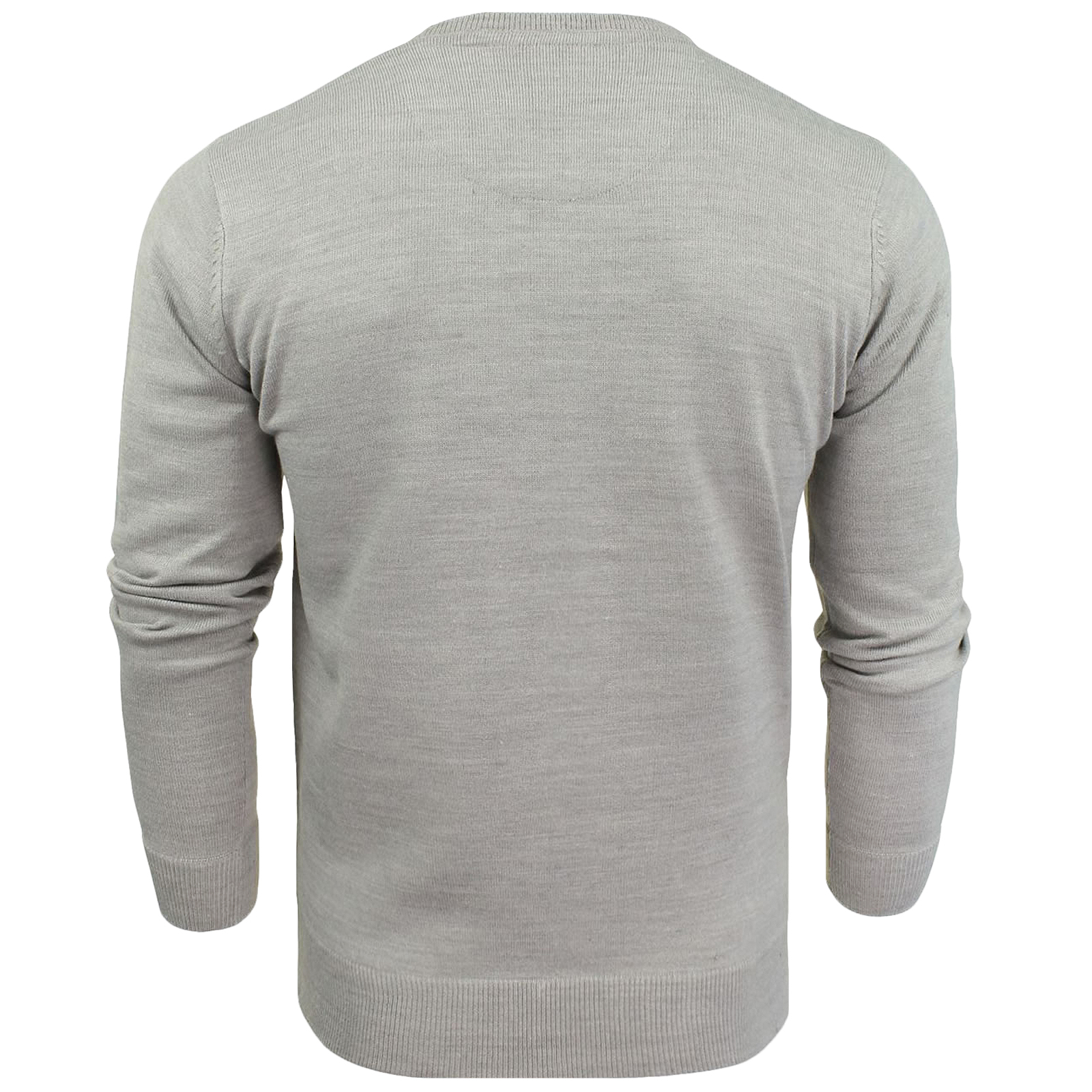 Brave Soul Mens Parse Knitted Long Sleeve Crew Neck Jumper Sweater Pullover Top
